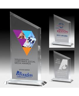 "Slim Line Billboard Award w/4-Color Process (4 3/4""x 6 1/2"")"