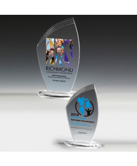 "Allure Acrylic Award (4 1/2""x7 1/4""x3/8"") - Screen Print"