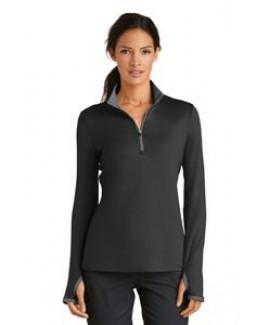 Ladies' Nike Golf Dri-FIT Stretch 1/2-Zip Cover-Up Shirt