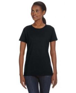 ANVIL® Ladies' Ring Spun Midweight Mid-Scoop T-Shirt