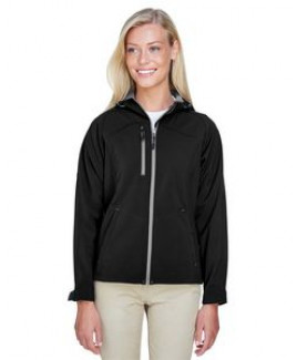 NORTH END Ladies' Prospect Two-Layer Fleece Bonded Soft Shell Hooded Jacket