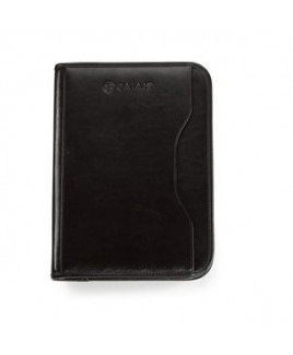 Vanguard Leather Calculator Padfolio Black
