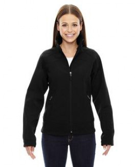 Ladies' North End Sport® 3-Layer Fleece Bonded Soft Shell Wind Jacket