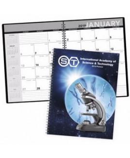Triumph® Standard Year Desk Planner w/Custom Cover
