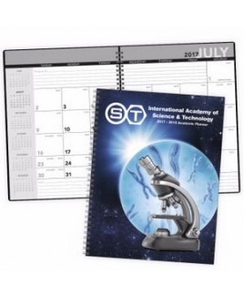 Triumph® Desk Planner w/Custom Cover - Academic Year