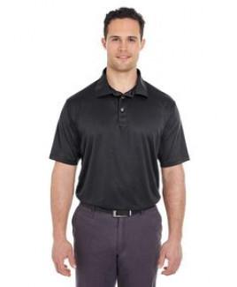 ULTRACLUB Men's Cool & Dry Jacquard Stripe Polo