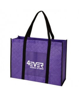 Quilted Non-Woven Tote