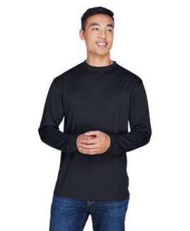 UltraClub® Adult Cool & Dry Sport Long-Sleeve T-Shirt