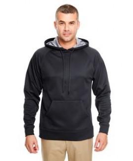 ULTRACLUB Adult Cool & Dry SportHooded Fleece