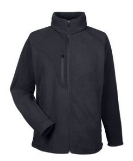 ULTRACLUB Men's Microfleece Full-Zip Jacket