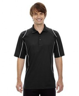 Extreme® Men's Eperformance™ Velocity Snag Protection Colorblock Polo Shirt w/Piping