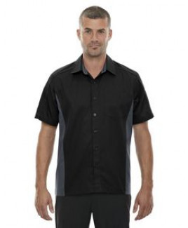 NORTH END Men's Tall Fuse Colorblock Twill Shirt