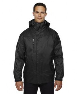 North End® Men's Performance 3-in-1 Seam-Sealed Hooded Jacket