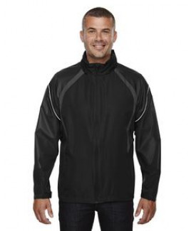NORTH END Men's Sirius Lightweight Jacket with Embossed Print