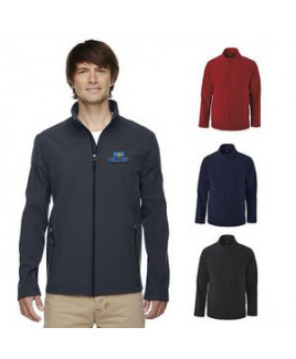 Men's Core365® Cruise Two-Layer Fleece Bonded Soft Shell Jacket