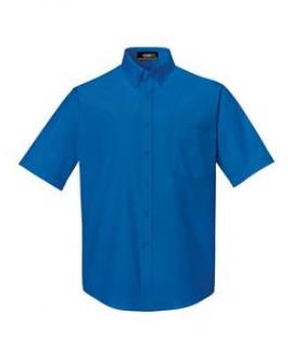 CORE 365 Men's Tall Optimum Short-Sleeve Twill Shirt