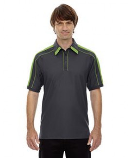 North End® Men's Sonic Performance Polyester Pique Polo Shirt