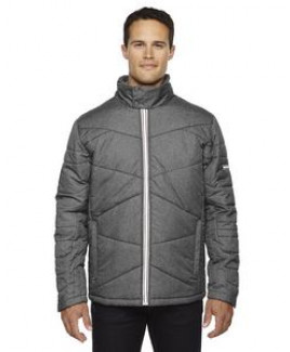NORTH END SPORT BLUE Men's Avant Tech Mélange Insulated Jacket with Heat Reflect Technology