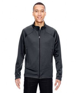 North End® Men's Cadence Interactive Two-Tone Brush Back Jacket