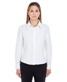UltraClub® Ladies' Whisper Twill Dress Shirt