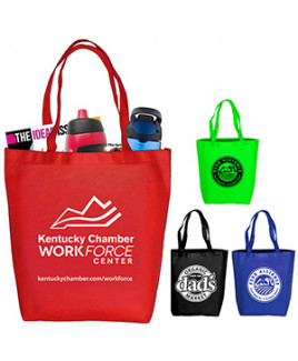 """Coral"" Economy Grocery and Shopping Tote Bag"