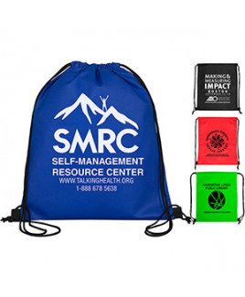 """Economy"" Drawstring Cinch-Pack Backpack"