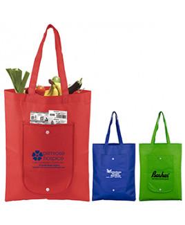 """Cove"" Fold-Up Tote Bag (Overseas)"