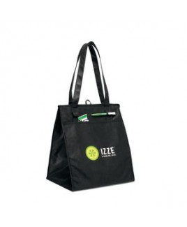 Deluxe Insulated Grocery Shopper - Black
