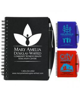 """""""Carmel"""" Jotter Notepad Notebook w/Pen (Overseas)"""