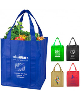 """Super Mega"" Grocery Shopping Tote Bag (Overseas)"