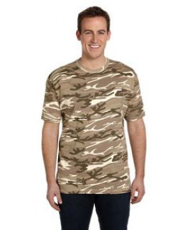 ANVIL® Adult Midweight Camouflage T-Shirt