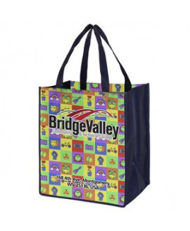 """""""Heavy Haul"""" Full-Color Sublimation Grocery Shopping Tote Bag (Overseas)"""
