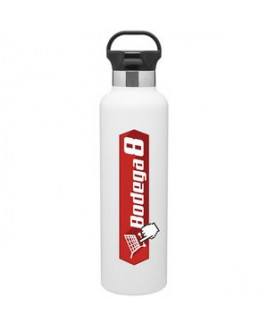 25 Oz. H2go Ascent Powder Bottle (Matte White)