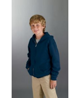 Jerzees Youth 8 oz. NuBlend® Fleece Full-Zip Hood