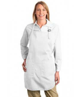 Port Authority® Full Length Apron w/Pouch Pocket