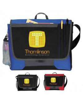 Atchison® Tri-Pocket Flap Messenger Bag