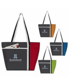 Atchison® Calling All Stripes Cooler Tote