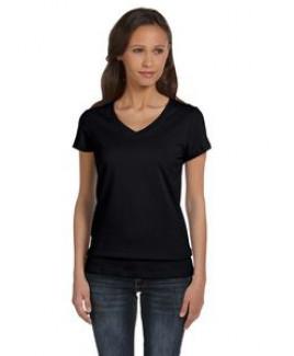 Color Image Apparel - Bella Ladies' Jersey Short-Sleeve V-Neck T-Shirt
