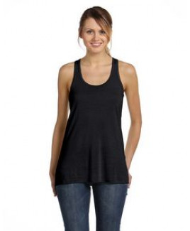 Color Image Apparel - Bella Ladies' Flowy Racerback Tank