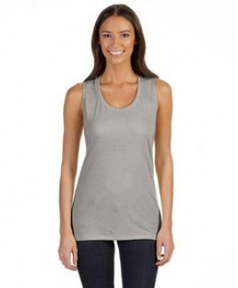 Color Image Apparel - Bella Ladies' Flowy Scoop Muscle Tank