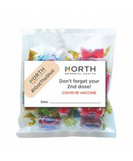 Business Card Magnet w/Small Bag of Jolly Ranchers