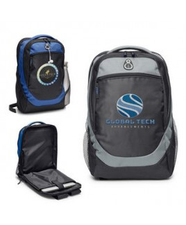 Hashtag Backpack w/Back Access Laptop Compartment