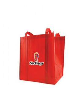 Heat Transfer Small Grocery Tote Bag