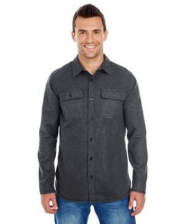 Burnside Men's Solid Flannel Shirt