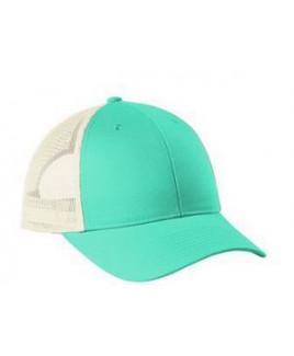 Port Authority® Low-Profile Snapback Trucker Cap