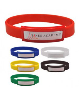 Silicone Wristband With Dome