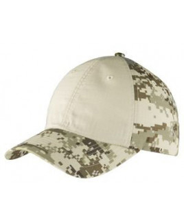 Port Authority® Colorblock Digital Ripstop Camouflage Cap