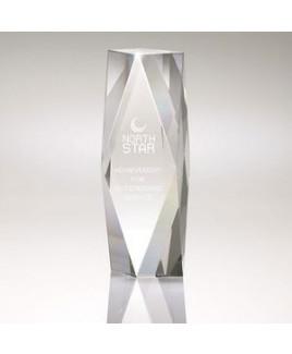 Tesla II Medium Crystal Tower Award