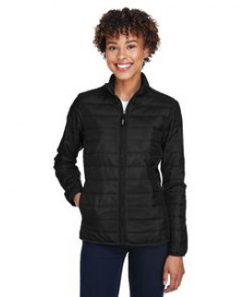 CORE365 Ladies' Prevail Packable Puffer Coat