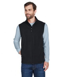 CORE365™ Men's Cruise 2 layer Fleece Bonded Soft Shell Vest